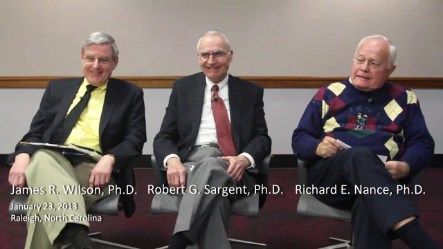 Discussion about the Computer Simulation Archive with James R. Wilson, Robert G. Sargent, and Richard E. Nance