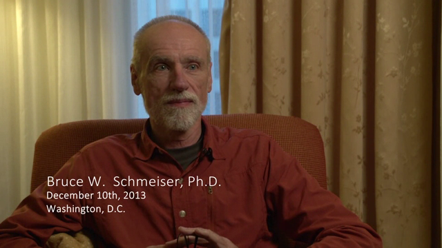 Bruce W. Schmeiser interviewed by James R. WIlson