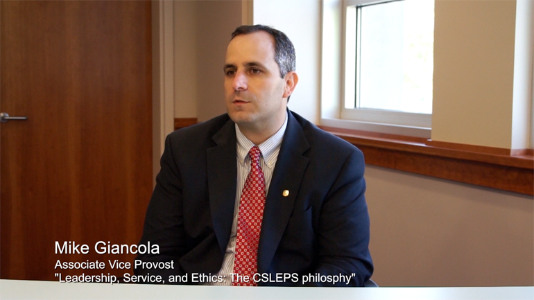 Leadership, Service and Ethics: The CSLEPS Philosophy