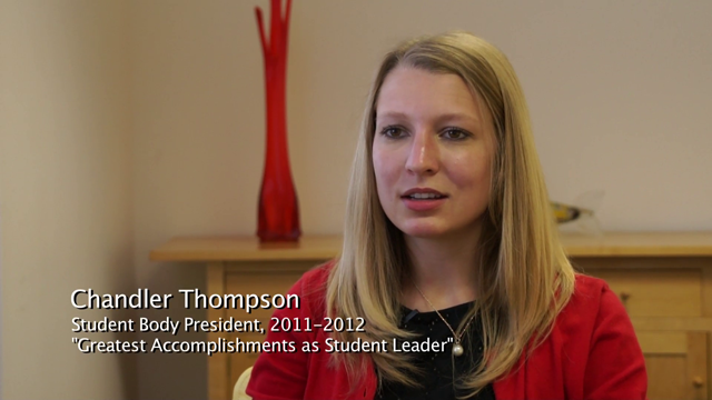 Thompson leader accomplishments