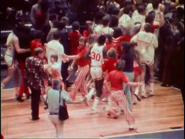 Ncaa basketball ucla vs ncsu 3 23 1974