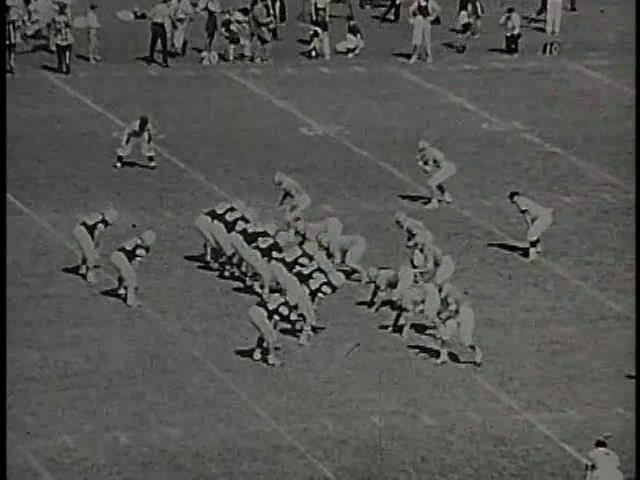 Ncsu vs unc football part1 1968