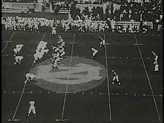 Ncsu vs unc football part1 1970