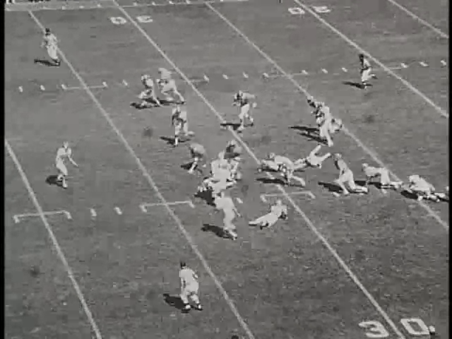 Ncsu vs unc football part1 1975