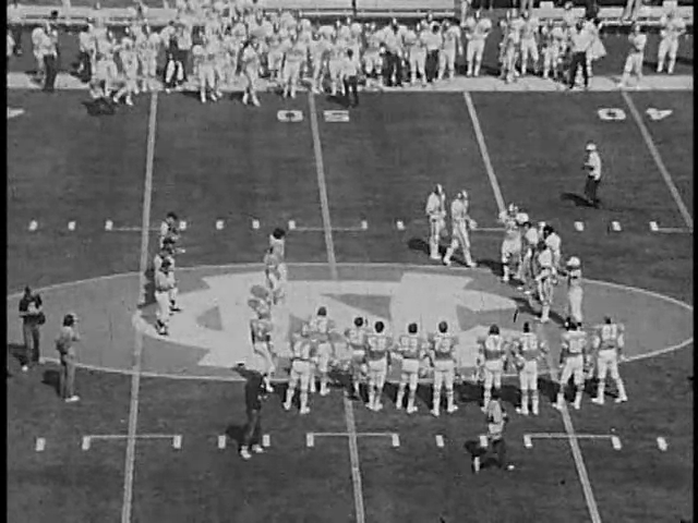 Ncsu vs unc football part1 1976