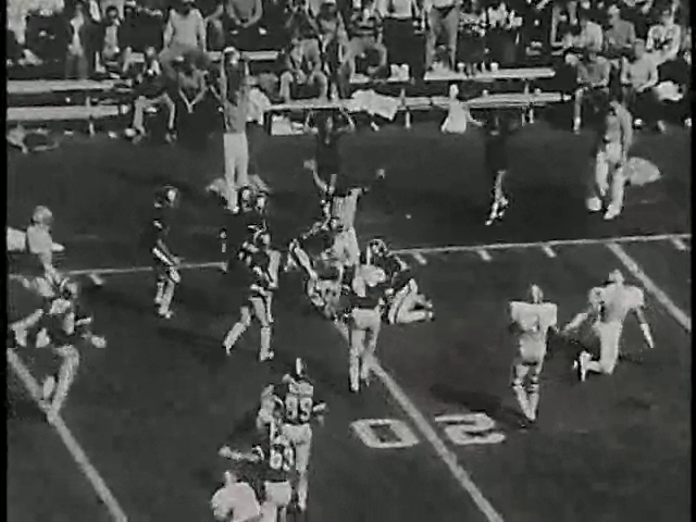 Ncsu vs unc football part1 1977