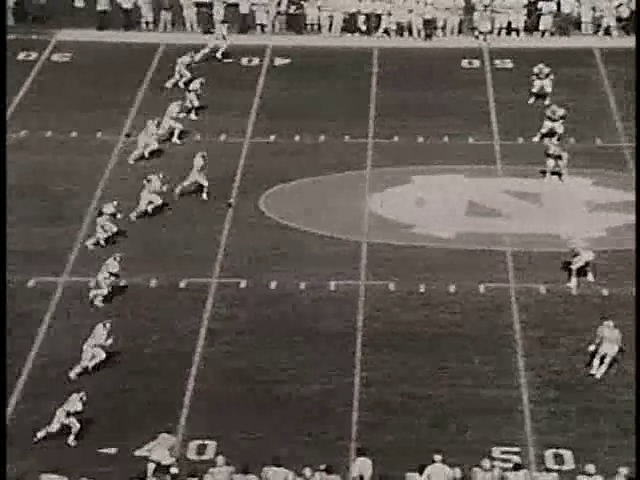 Ncsu vs unc football part1 1978