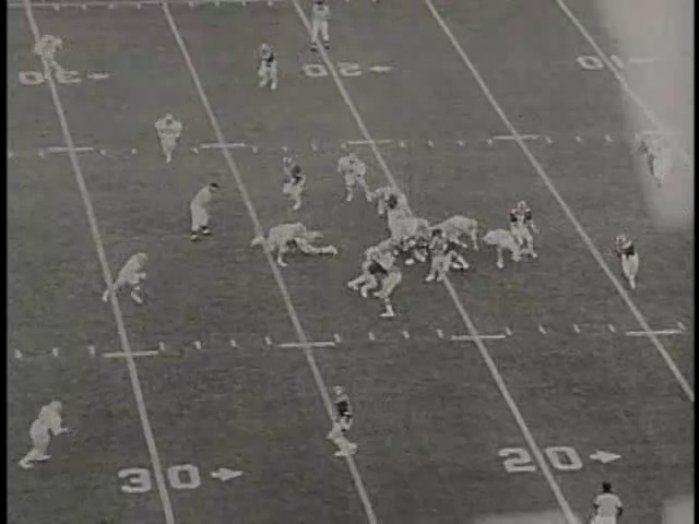 Ncsu vs unc football part1 1979
