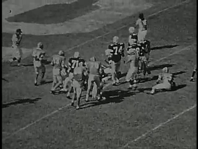 Ncsu vs unc football part2 1968