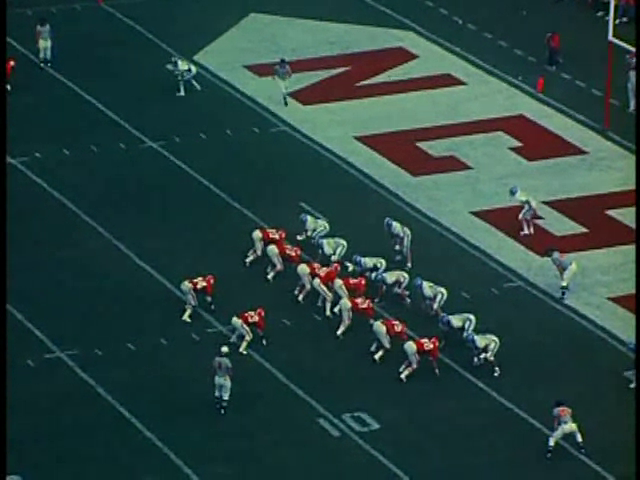 Ncsu vs unc football part2 1975