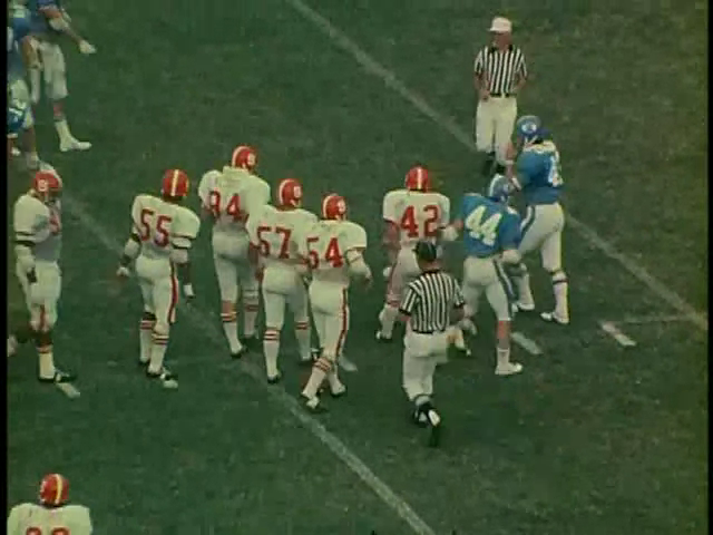 Ncsu vs unc football part2 1976