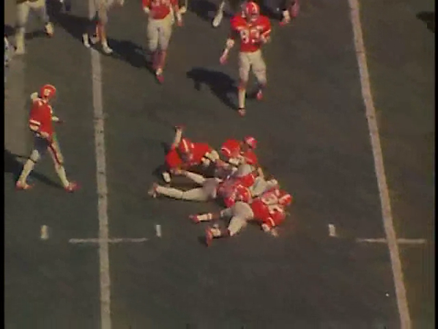 Ncsu vs unc football part2 1977