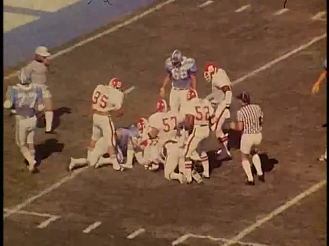 Ncsu vs unc football part3 1978