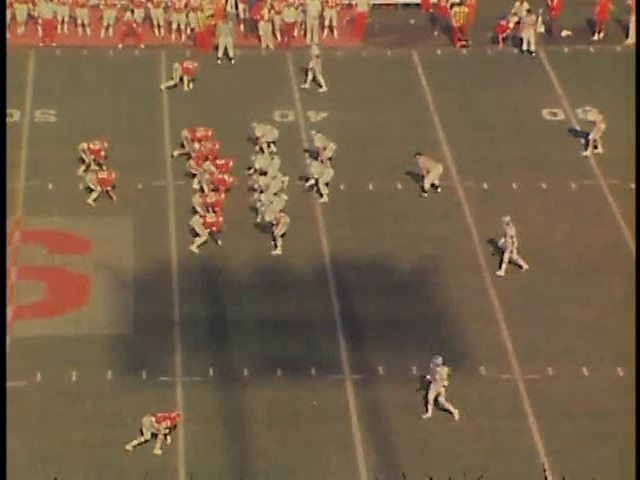 Ncsu vs unc football part4 1977