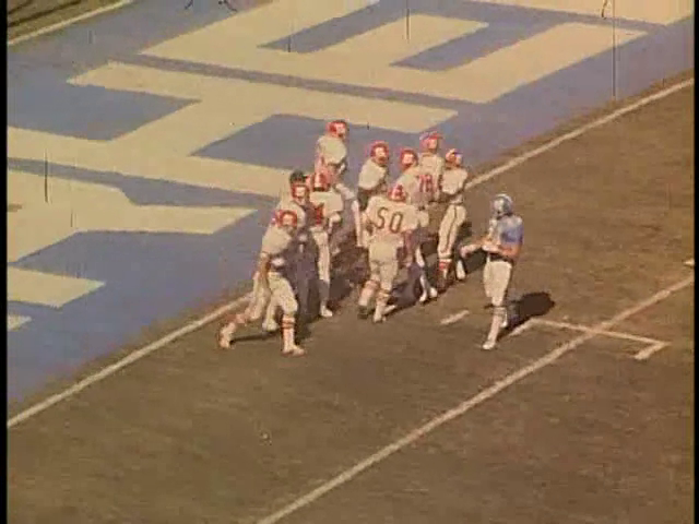 Ncsu vs unc football part4 1978