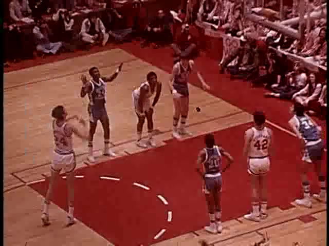 Ua015 402 ncsu vs unc mens basketball slow motion 02261974