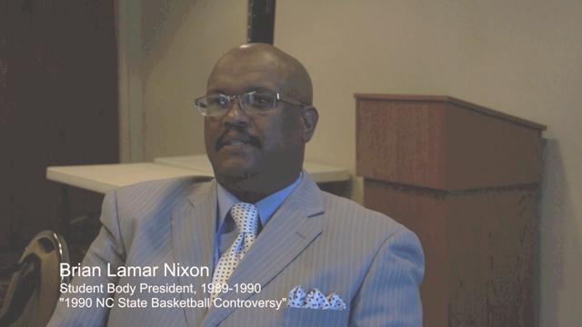 Nixon 1990 bball controversy