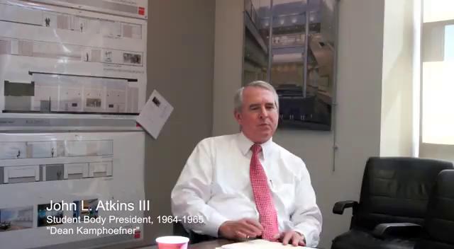 Atkins mentors kamphoefner