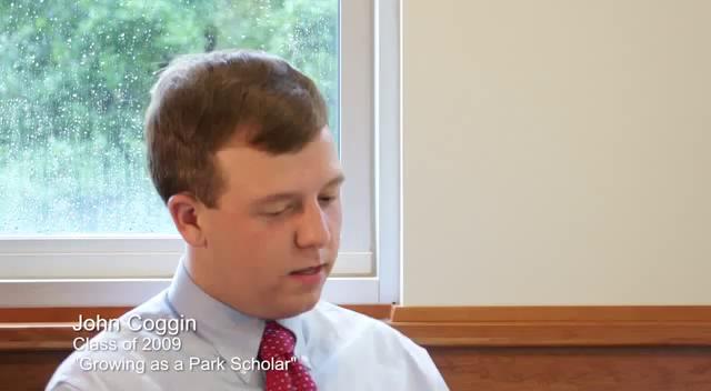 Coggin academics park scholar