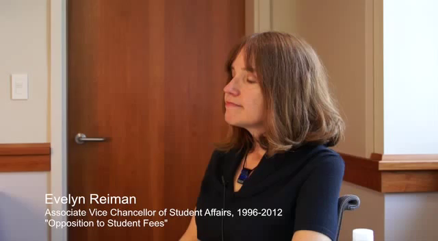 Reiman reflections student fees
