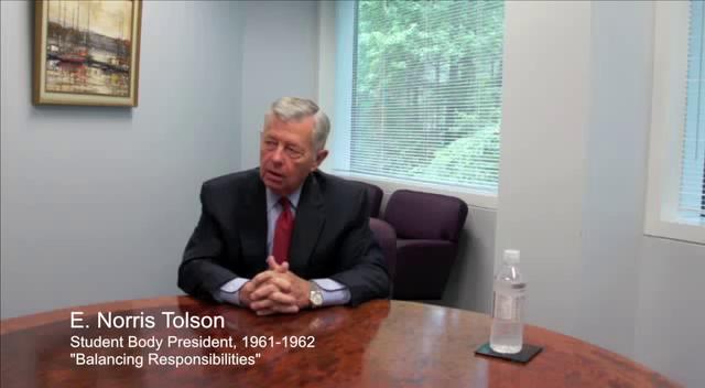 Tolson leader balance