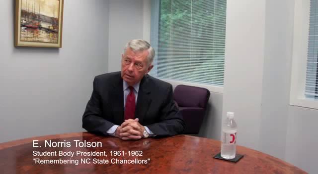 Tolson mentors chancellors
